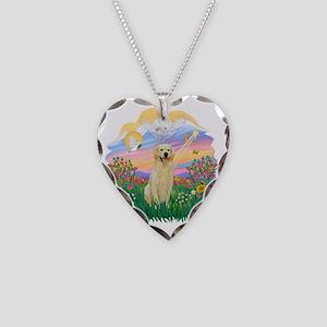 Guardian - Golden 6 Necklace Heart Charm