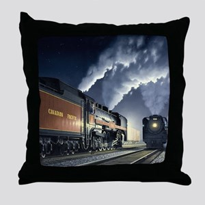 night_meet Throw Pillow