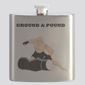MMA Fighter Flask
