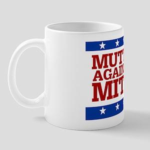 Mutts Against Mitt3.5x2.5 Mug