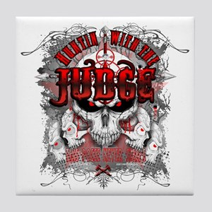 Judge Cafe Tile Coaster