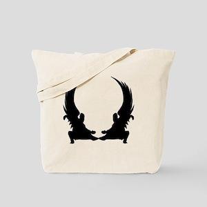 Warrior Wings Tote Bag