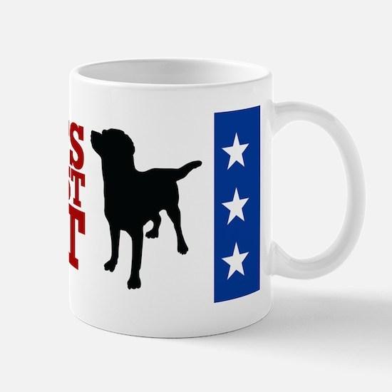 Mutts Against Mitt-bumper Mug