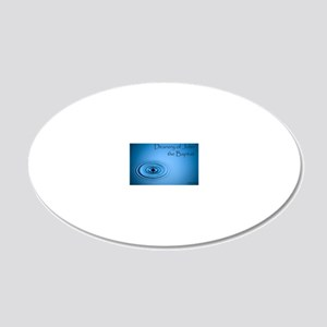 Deanery Logo 2 20x12 Oval Wall Decal