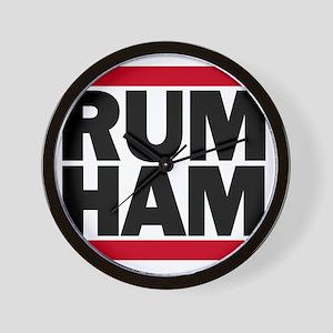 Rum Ham DMC_light Wall Clock