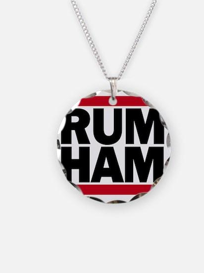 Rum Ham DMC_light Necklace