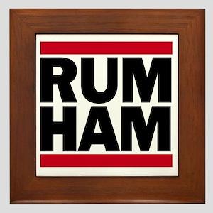 Rum Ham DMC_light Framed Tile