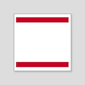 """Rum Ham DMC_dark Square Sticker 3"""" x 3"""""""