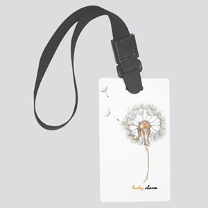 Lucky charm 8 Large Luggage Tag