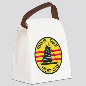 TonkinGulfEmblem Canvas Lunch Bag