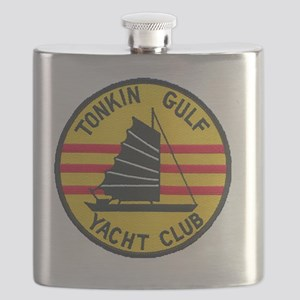 TonkinGulfEmblem Flask