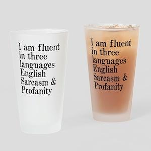 fluent Drinking Glass