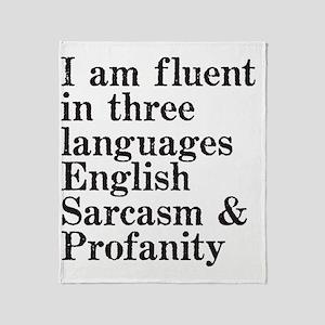 fluent Throw Blanket