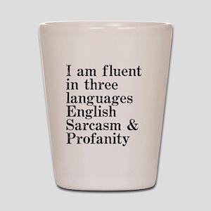 fluent Shot Glass