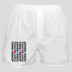 philperkins_fight_censorship_reg_alin Boxer Shorts