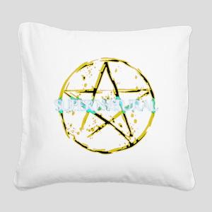 Supernatural 92 Square Canvas Pillow