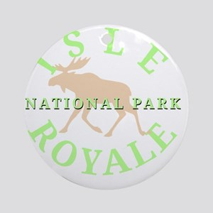isleroyalenationalpark-white Round Ornament