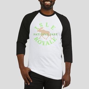 isleroyalenationalpark-white Baseball Jersey