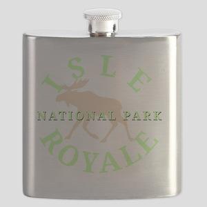 isleroyalenationalpark-white Flask