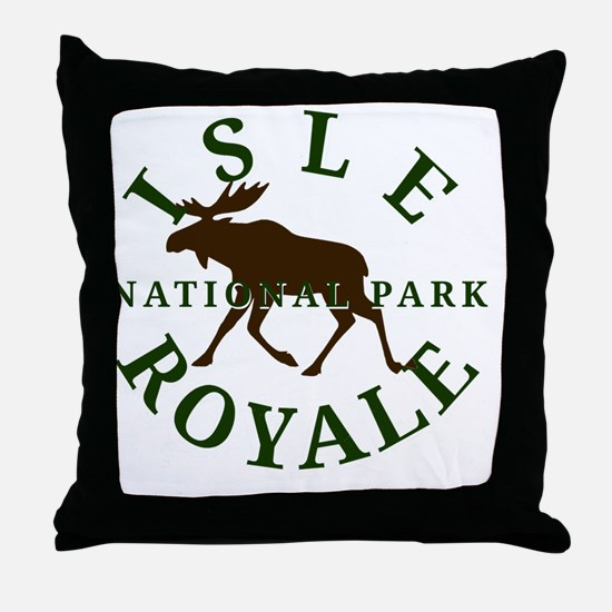 isleroyalenationalpark Throw Pillow