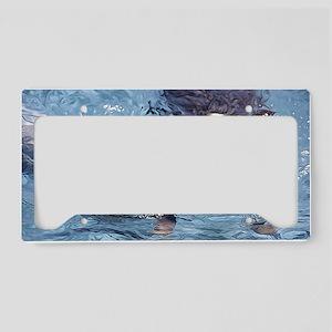Swimming ACD License Plate Holder