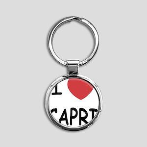 CAPRI Round Keychain