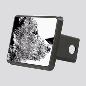 ACD Puppy Pondering Rectangular Hitch Cover