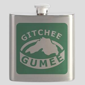 Gitchee Gumee Flask