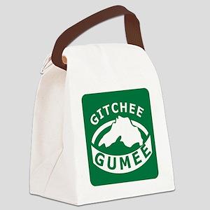 Gitchee Gumee Canvas Lunch Bag