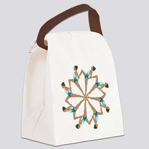 8TeamCircle Canvas Lunch Bag