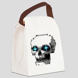 phantom1 large Canvas Lunch Bag