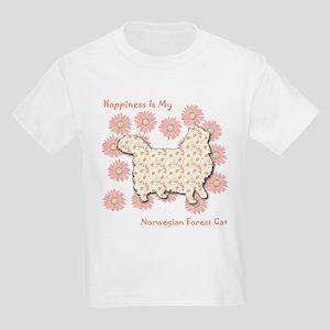 Norwegian Happiness Kids T-Shirt