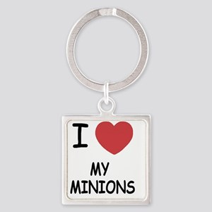 MY_MINIONS Square Keychain