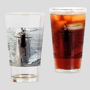 tjefferson framed panel print Drinking Glass