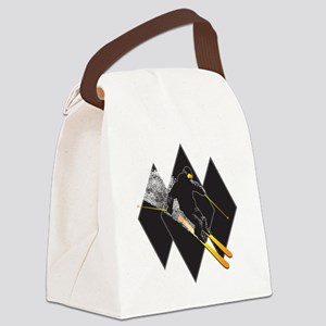 black diamond dude Canvas Lunch Bag
