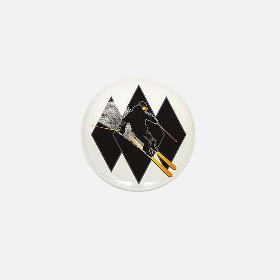 black diamond dude Mini Button