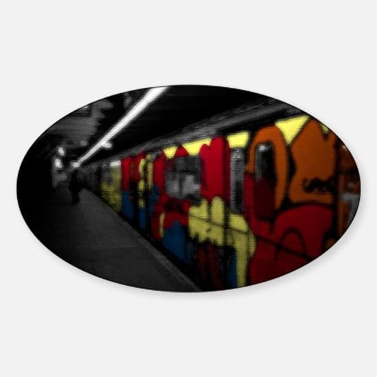 s80 Platform Sticker (Oval)