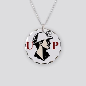u.p.miner Necklace Circle Charm