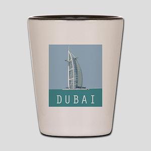 Dubai1postcard Shot Glass