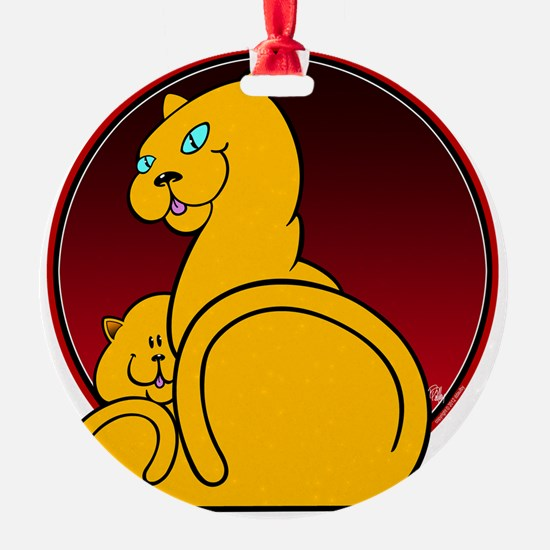 Kitty  Kitten Ornament