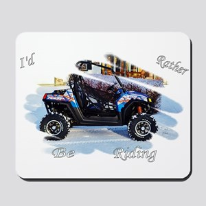 Id Rather be Ridin ! Mousepad