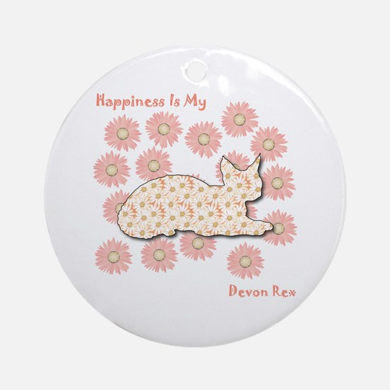 Rex Happiness Ornament (Round)