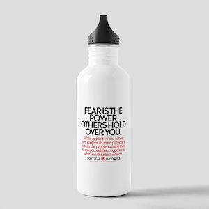 Fear Is Stainless Water Bottle 1.0L