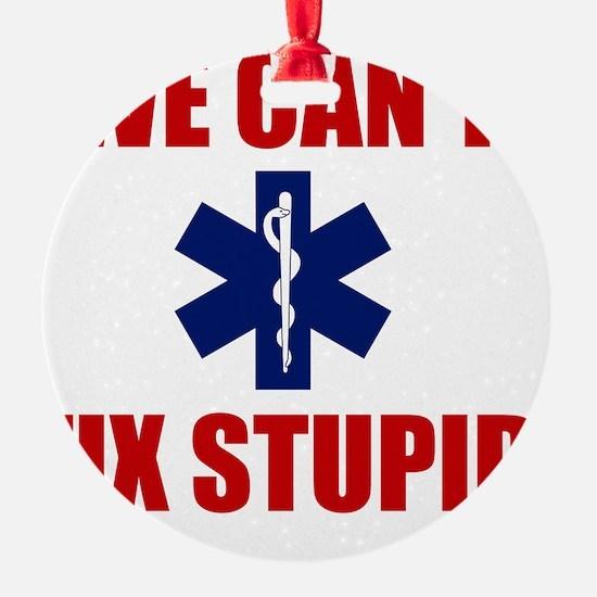 we Can't Fix Stupid Ornament