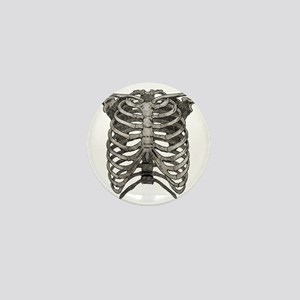 ribcage_grey Mini Button