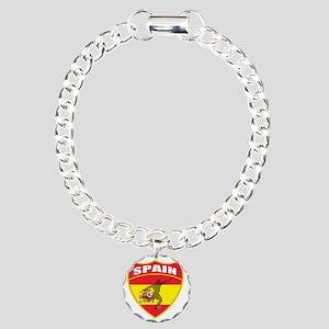 spain Charm Bracelet, One Charm