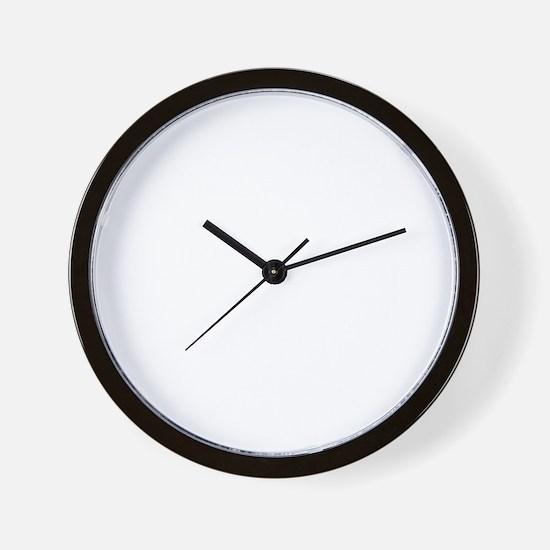 ribcage_wh Wall Clock