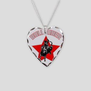 bullriderdk Necklace Heart Charm