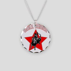 bullriderdk Necklace Circle Charm