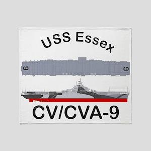Essex-Essex_Straight_Front Throw Blanket